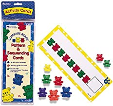 Learning Resources Three Bear Family Pattern Cards, Early Learning, Ages 3+