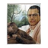 TalentHover Jeff Goldblum Duschvorhang aus wasserdichtem Stoff, 152,4 x 182,9 cm