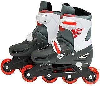 SK8/Zone Fille Rose /à roulettes 2/en 1/Rollers pour Lames Taille r/églable pour Enfants Pro Combo Multi Ice Skating Bottes Chaussures Neuf