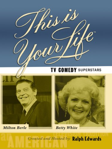This Is Your Life TV Comedy Superstars - Milton Berle and Betty White