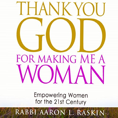Thank You God For Making Me a Woman audiobook cover art