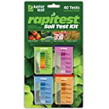 Luster Leaf 1601 Rapitest Test Kit for Soil pH, Nitrogen, Phosphorous and Potash, 1 Pack