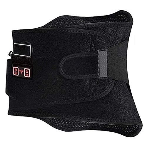 LMCLJJ inferior de la espalda del cojín de calefacción/calefacción cinturón de cintura masaje de espalda con calor Calefacción masajes detrás de la correa del abrigo inferior de la espalda alivio de