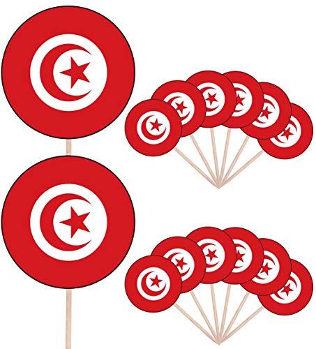 Antarktis Flagge–24Essbare Cupcake Topper/Geburtstag Kuchen Dekorationen–Einfache vorgeschnittenen Kreise