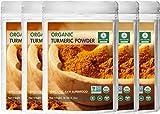 Premium Quality Organic Turmeric Root Powder with Curcumin (5 lbs - 5...