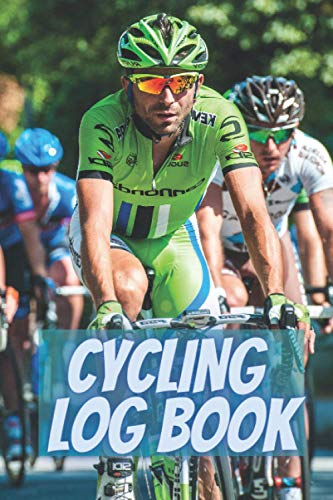 Cycling log book: Record your rides and performances| Gift idea for off road biking cycling enthusiasts| notebook for sport lovers|cyclocross bikes|