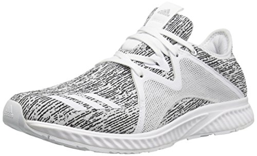 adidas Women's Edge lux 2 Running Shoe, Utility Black/White, 7.5 Medium US