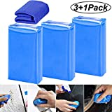 Clay Bar,BESTZY Car Clay Bar 100g Magic Claybar Barra Limpiadora Auto Detallado Reutilizable Auto Cleaning Clay Bar Cleaner Para Automóviles Camiones Auto Vehículos Motos – Azul(3pcs)
