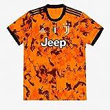 JUVE Juventus Terza Maglia - Personalizzata con Nome e Numero Giocatore - Uomo - Ronaldo Dybala Arthur - Stagione 2020/2021 - Scegli Prima la Taglia (Taglia S)