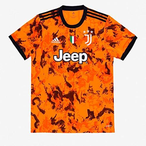 JUVE Juventus Terza Maglia - Personalizzata con Nome e Numero Giocatore - Uomo - Ronaldo Dybala Arthur - Stagione 2020/2021 - Scegli Prima la Taglia (Taglia XL)
