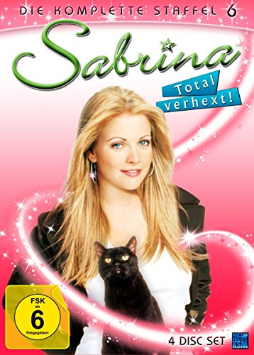 Sabrina - Total verhext! (Staffel 6, Folgen 120-141 im 4 Disc Set)