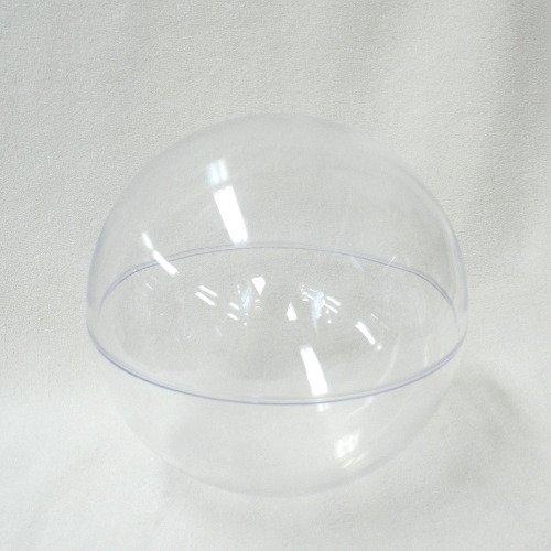 プラスチックBOX 球体 クリア 径120mm