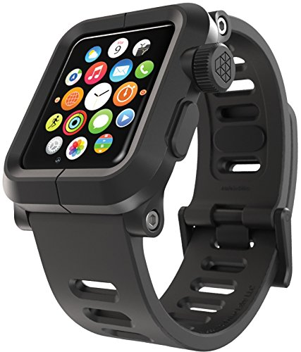 Lunatik EPIK-001 Coque en polycarbonate pour Apple Watch Noir