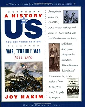 Paperback A History of US: War, Terrible War : 1855-1865 a History of US Book Six Book
