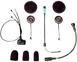 J&M Corporation Unisex-Adult 787 Elite Series Motorcycle Headset Hi-Speaker Open/Flip/Full Face Style (Black, One Size)