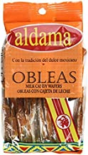 Authentic Sabores - Imported Mexican Mini aldama Wafer 20ct. With 1ct. Delicious Caramel Peanut Candy