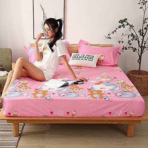 CYYyang Matratzen-Bett-Schoner mit Spannumrandung | Auch für Boxspring-Betten und Wasser-Betten geeigne Wasserdichtes Einzelprodukt-Bettlaken hotel-29_180cm × 200cm