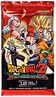 Dragon Ball Z Collectible Card Game Vengeance Booster Pack [12 Cards] (Panini)