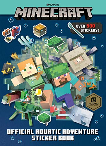 Minecraft Official Aquatic Adventure Sticker Book (Minecraft)