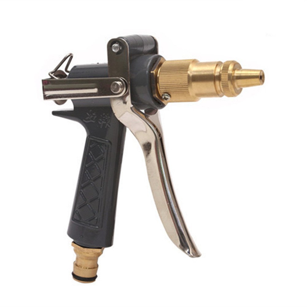 Pistola de agua boquilla de manguera Fuentes del jardín del arma de agua, interfaz del espray