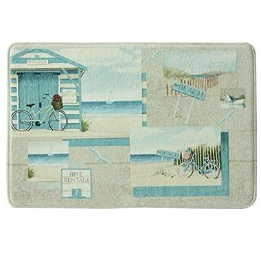 Bacova Guild 11847 Beach Cruiser 20  X 30  Bath Rug