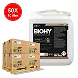 Biohy - Descalcificador universal 50 x 10 Liter Kanister