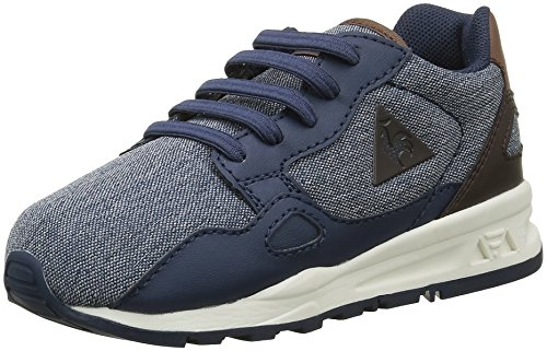 Le Coq Sportif Unisex-Kinder LCS R900 Inf 2 Tones Sneakers, Blau (Dress Blue/Mustang/RDress Blue/Mustang/R), 22 EU