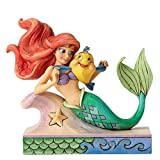 Disney Traditions Ariel with Flounder Figurine