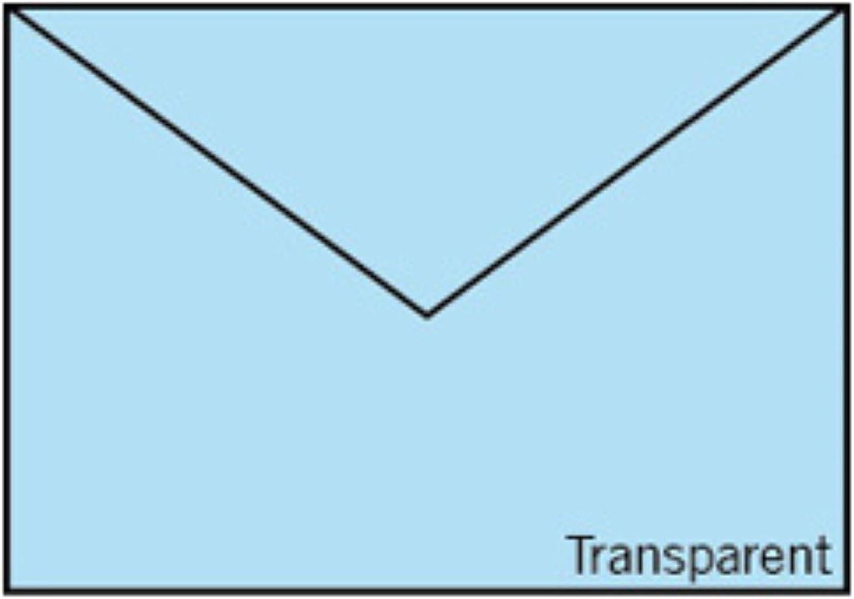 Rössler Papier - - Paperado-Briefumschlag C5, C5, C5, transp. Hellblau - Liefermenge  50 Stück B07CX83VKJ  | Bestellungen Sind Willkommen  912e48