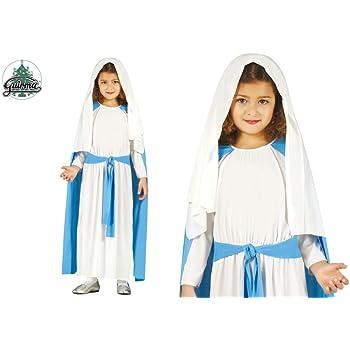 GUIRMA Costume da Vergine Maria Bambina recita Madonna Presepe