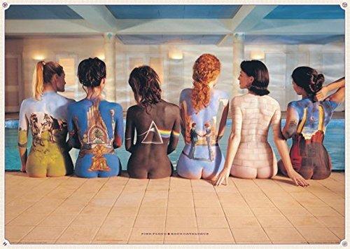 Close Up Pink Floyd XXL Poster (140cm x 100cm) + Ü-Poster