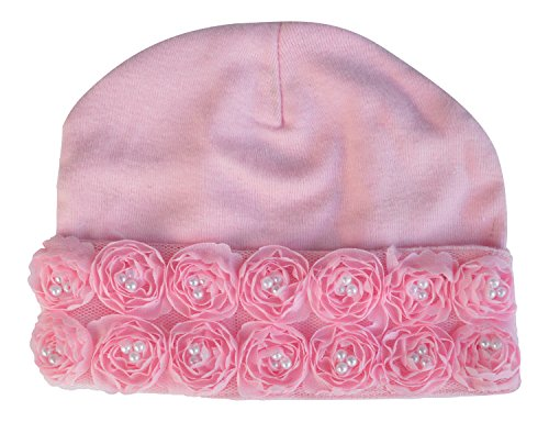 PLH Bows Cotton Hat Small (pink)