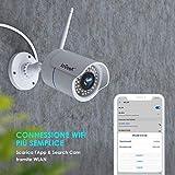 Zoom IMG-1 iegeek telecamera wifi esterno ip
