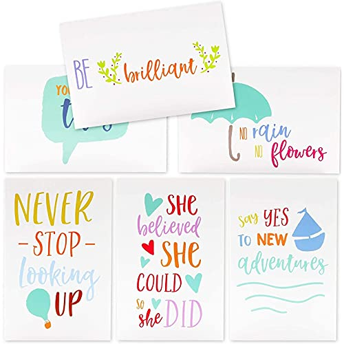 Inspirational Quote Note Cards