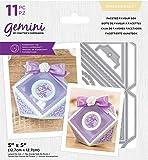 Crafter's Companion Gemini Mini monedero y 3D Dimensionals metal corte troquelado caja de regalo, plata, talla única