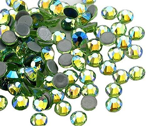 Capri Azul SS16 Piedras de estr/ás con el reverso plano y fijaci/ón con calor de Jollin