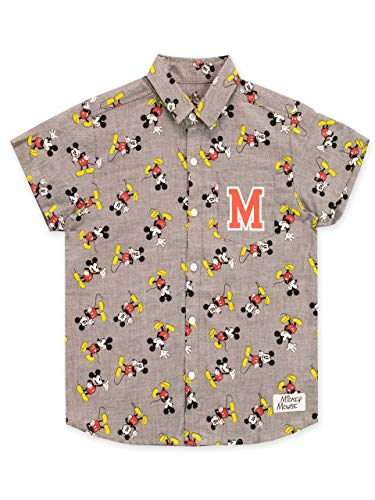 Disney ni/ñas Mickey Mouse Face Camisa De Entrenamiento