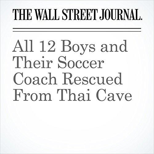 All 12 Boys and Their Soccer Coach Rescued From Thai Cave copertina