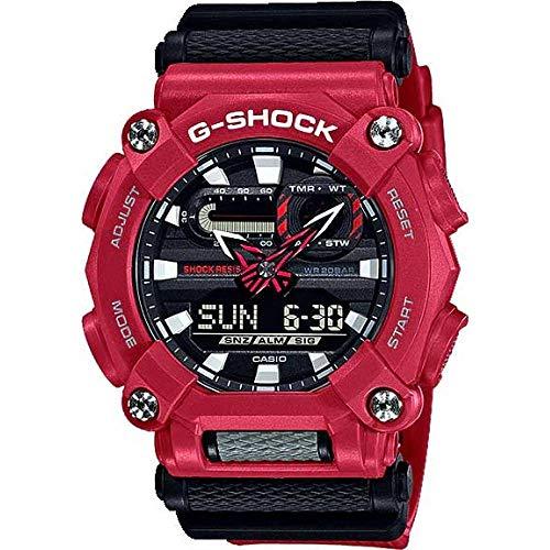 Relógio CASIO G-SHOCK masculino vermelho GA-900-4ADR