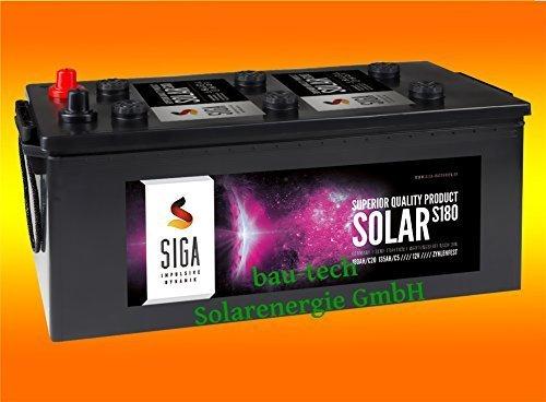 150Ah AGM Solarbatterie AKKU für Photovoltaik, Insel oder Solar Anlagen