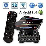 【Android 9.04GB + 64GB】H96 MAX+ 4GB+64GB RK3328 Quad-Core 64bit Ultra HD Smart TV BOX,Support...