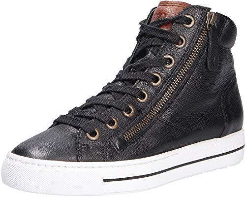 Paul Green Damen Sneaker schwarz Gr. 43