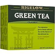 Bigelow, Classic Green Tea Bags (Caffeinated), 40 Count