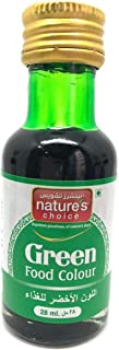 Natures Choice Food Colour, Green, 28 ml