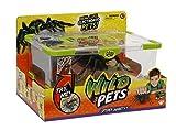 Giochi Preziosi - Wild Pets Ragno Interattivo con Luci al LED e Gabbietta Spider Habitat