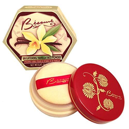 Besame Cosmetics Vanilla Brightening Powder
