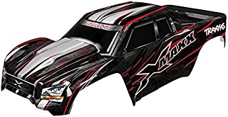 Traxxas 7711R Red X-Maxx Body (Painted with Decals Applied), Includes Tailgate Protector Vehicle