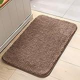 Felpa gruesa alfombra piso simple cocina inodoro felpudo baño antideslizante estera absorbente de agua pie pad