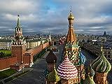 Puzzles para Adultos Rompecabezas de 500 Piezas - El Kremlin Puzzles de Madera Familiar Descompresión para niños Adultos Regalos de cumpleaños