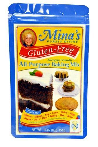Mina's Purely Divine All Purpose Baking Mix Gluten Free - 16 oz